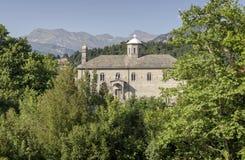 Kościół St Paraskevi w wiosce Pramanta Grecja, Tzoumerka zdjęcia royalty free