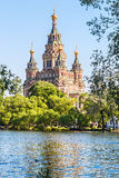 Kościół St Peter i Paul kościół, Peterhof, święty Petersburg Zdjęcie Royalty Free