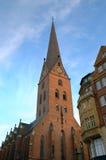 Kościół St. Petri w Hamburg zdjęcie stock