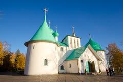 Kościół St Sergius Radonezh na Kulikovo polu, Tula region Obrazy Stock