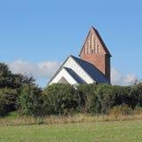 Kościół St Severin na wyspie Sylt Zdjęcie Royalty Free