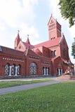 Kościół St Simeon i St Elena w Minsk Obraz Stock