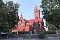 Kościół St Simeon i St Elena w Minsk Fotografia Royalty Free
