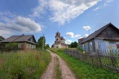 kościół stary opustoszały obrazy stock