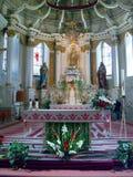 kościół sumuleu Romania Zdjęcia Royalty Free
