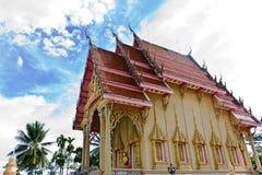 Kościół Tajlandzka świątynia w Tajlandia Obrazy Royalty Free