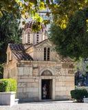 Kościół Theotokos Gorgoepikoos i Ayios Eleytherios fotografia royalty free