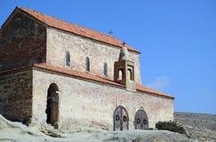 Kościół Tryumfalny w jamy mieście Uplistsikhe Gregory, Gruzja Obraz Royalty Free