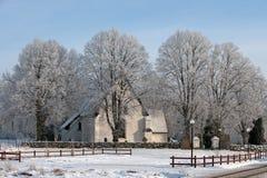Vasterakers kyrka Obrazy Royalty Free