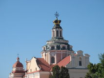 Kościół Vilnius Obraz Stock