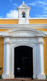 Kościół wśrodku Castillo San Felipe Del Morro Zdjęcie Royalty Free
