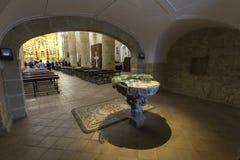 kościół w środku Zdjęcie Royalty Free