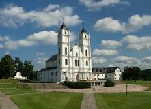 Kościół w Aglona Obraz Stock