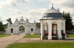 Kościół w Aglona Obrazy Royalty Free