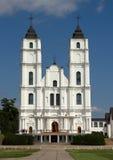 Kościół w Aglona Zdjęcie Stock