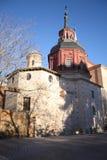 kościół w Alcala De Henares Zdjęcia Royalty Free