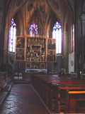 Kościół w Austria Obrazy Royalty Free