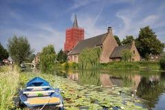 Kościół w Bleskensgraaf Zdjęcie Royalty Free
