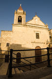Kościół w Cattabellotta, Sicily, Włochy Obrazy Royalty Free