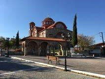 Kościół w Dadia Grecja Obraz Royalty Free