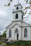 Kościół w Górnej Kanada wiosce, Ontario Zdjęcia Royalty Free