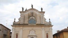 Kościół w Garlasco, PV, Włochy, plandeka strzał zbiory
