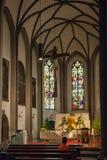 Kościół w Imst obraz royalty free