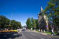 Kościół w Karpacz, Polska Zdjęcia Royalty Free