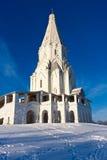 Kościół w Kolomenskoe Obrazy Stock