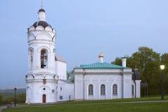 Kościół w Kolomenskoye obraz royalty free