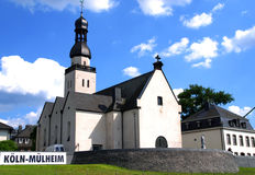 Kościół w Kolonia, Niemcy (Köln) Zdjęcie Stock