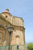 Kościół w Mellieha Obrazy Royalty Free