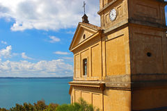 Kościół w morzu 3 obrazy stock