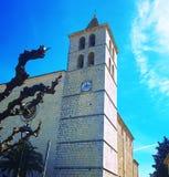 Kościół w Palmie Majorca, lato czas, Hiszpania, Europa Zdjęcia Stock