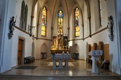Kościół w południowym Germany Obraz Royalty Free
