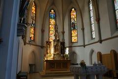 Kościół w południowym Germany Fotografia Stock