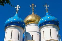 Kościół w Sergiyev Posada zdjęcie royalty free