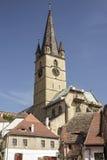 Kościół w Sibiu Zdjęcia Royalty Free