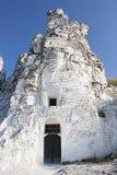 Kościół w skale Zdjęcie Royalty Free