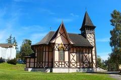 Kościół w Stary Smokovec, Wysoki Tatras, Sistani Obrazy Stock