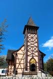 Kościół w Stary Smokovec, Wysoki Tatras, Sistani Zdjęcia Royalty Free
