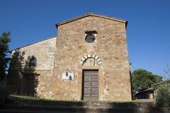 Kościół w Tuscany Obraz Stock