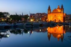 Kościół w Valletta, Malta Obraz Stock
