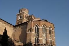 Kościół w Venice Obrazy Royalty Free