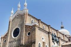 Kościół w Wenecja, Włochy Fotografia Royalty Free