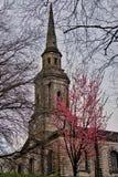 Kościół W wiośnie Fotografia Royalty Free