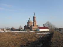 Kościół w wiośnie Zdjęcie Stock