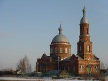 Kościół w wiośnie Zdjęcia Stock