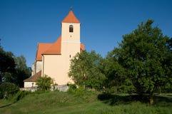 Kościół w wiosce Blanice, republika czech, Fotografia Stock