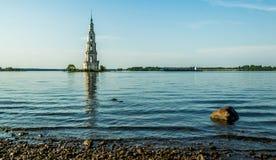 Kościół w wodzie fotografia stock